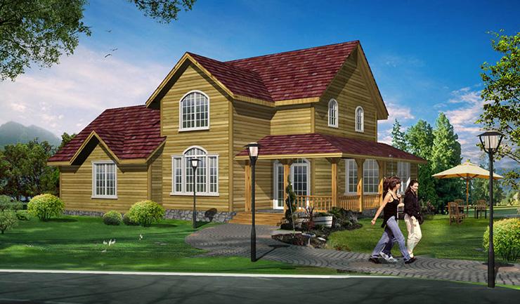 4,轻钢结构图片屋顶太阳建造轻钢别墅别墅图片