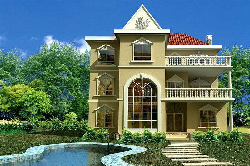 农村框架结构别墅