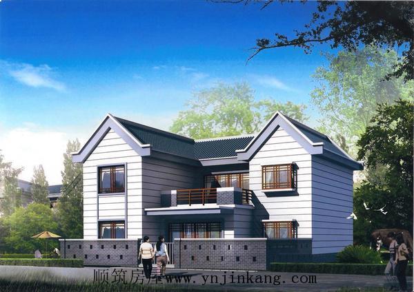 农村小别墅自建房设计图纸及效果图大全