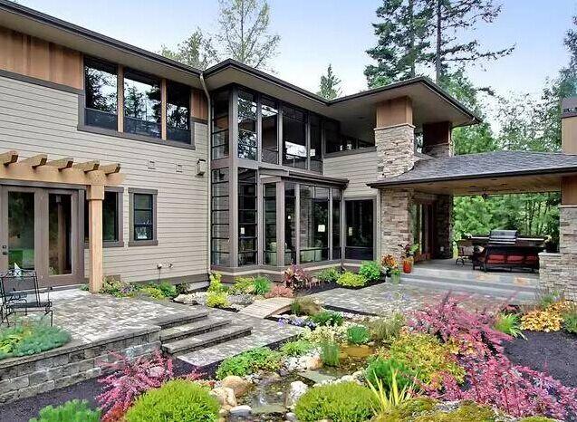 农村土豪自建的400平复式别墅,内部装修疯了!