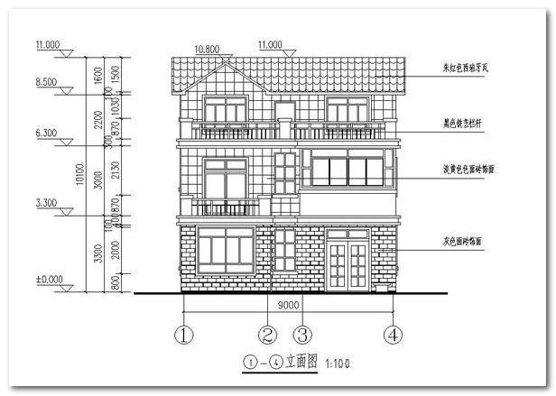 25萬農村自建房設計圖