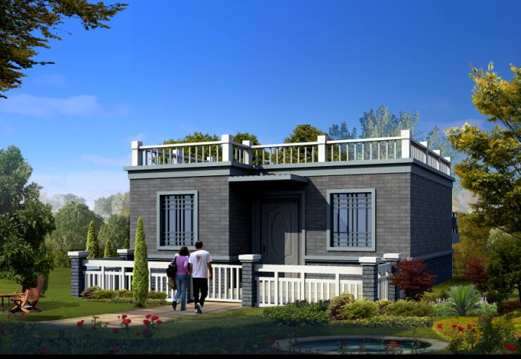 农村自建房造价10万一层小别墅