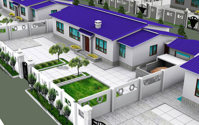 農村自建房造價10萬一層小別墅