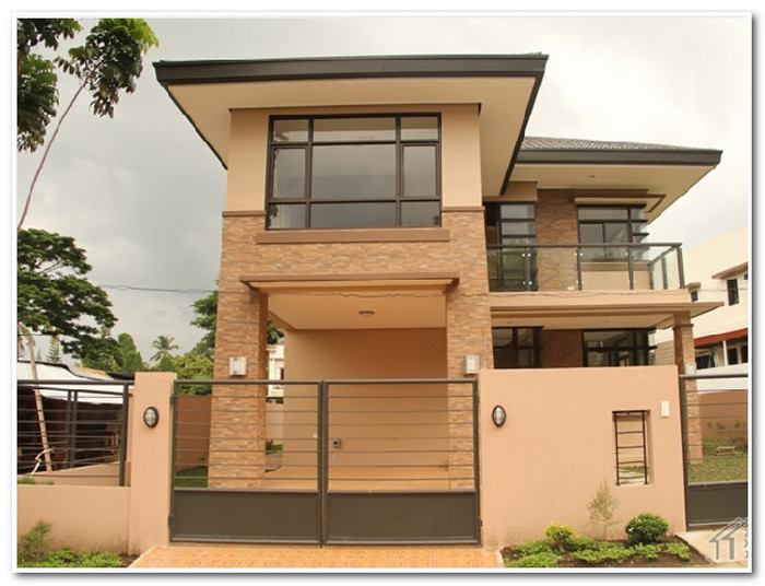 8米x10米80平米两层别墅自建房(造价25万)