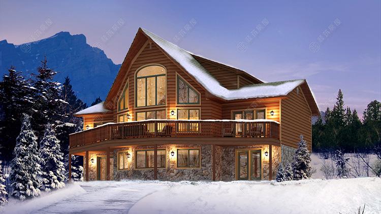 木质结构房屋造价,自建木屋,自制木屋,实木房子,木-顺