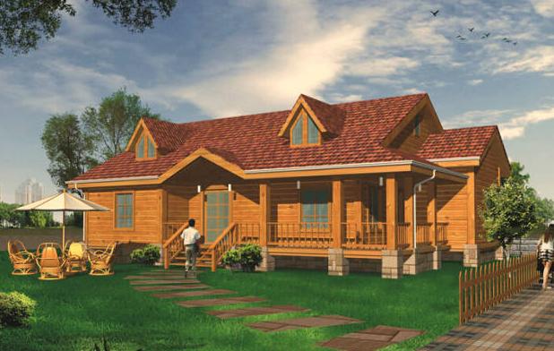 """木屋别墅享有""""会呼吸的房屋""""的美誉,它承载的,不仅是人们渴望亲近自然"""