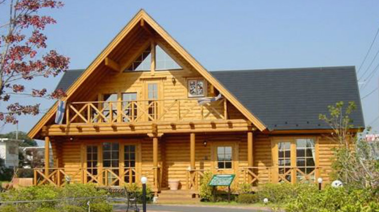 高档豪华木结构别墅