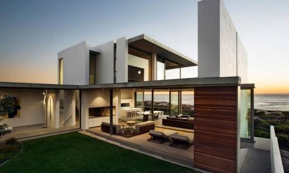 钢结构别墅案例分享之南非开普敦珍珠湾度假别墅