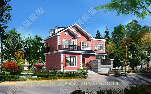 钢结构一层房子设计图