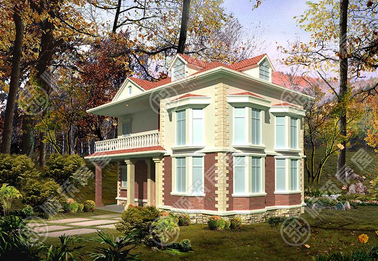 农村自建轻钢结构别墅