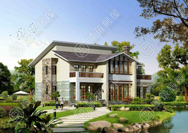 农村自建钢结构别墅