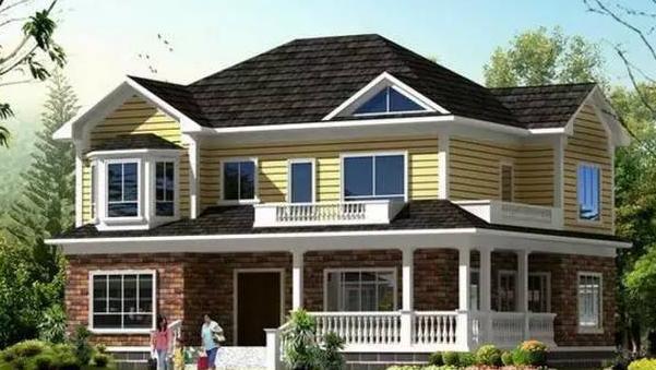 农村人也真会玩,6套轻钢别墅户型图最适合农村自建