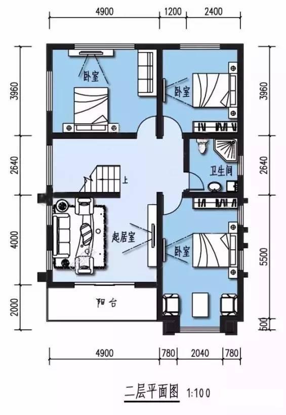 9套农村自建别墅平面设计图和效果图(钢结构