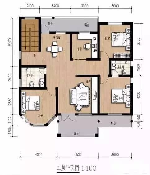 9套农村自建别墅平面设计图和效果图(钢结构别墅砖混别墅可选)