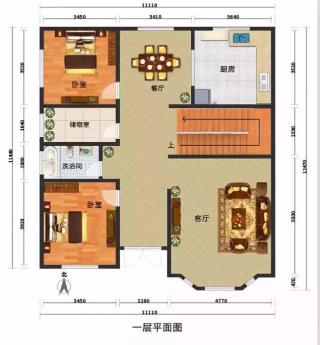 9套农村自建别墅平面设计图和效果图(钢结构别墅砖混别墅可选)图片