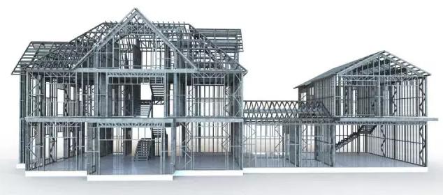 农村钢结构住宅建筑需认真研究的几个问题