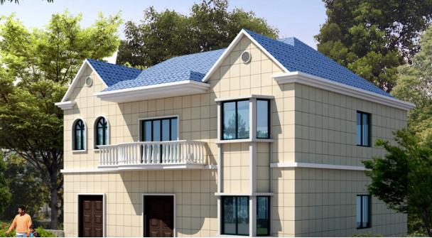 轻钢结构15万元以内农村别墅图
