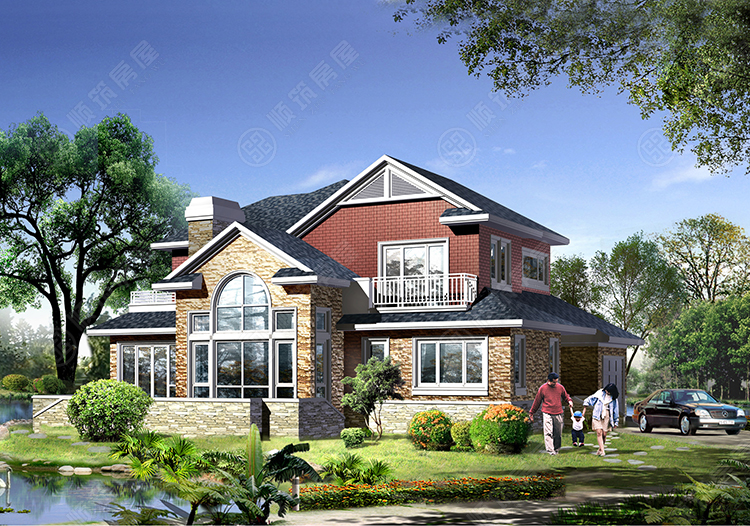 轻型钢结构别墅-15