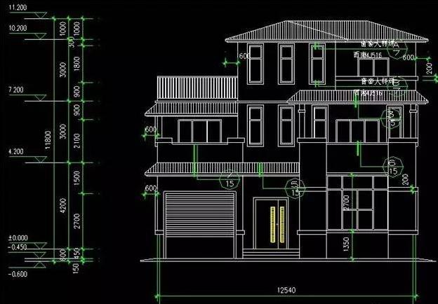 主体造价参考: 36万  功能分区 本户型为3层独栋别墅,一层建筑面积136平米,二层建筑面积111平米,三层建筑面积53.6平米。  一层设有车库、门厅、客厅、餐厅、厨房、卧室1间、卫生间、盆景室,功能非常齐全,也很合理,符合我国农村的生活需求。  二层设有主卧室、卧室3间、卫生间2间、2个大露台,家里的居住区基本都在这里了,老人可以住在一楼的卧室。  三层设有储物间、多功能房、大露台,多功能房可依据各家情况自行设置,客房、杂物间都是可行的。