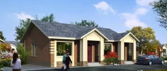 11mx10m乡村轻钢小别墅,设计合理,造型美观,大家都盖的起!