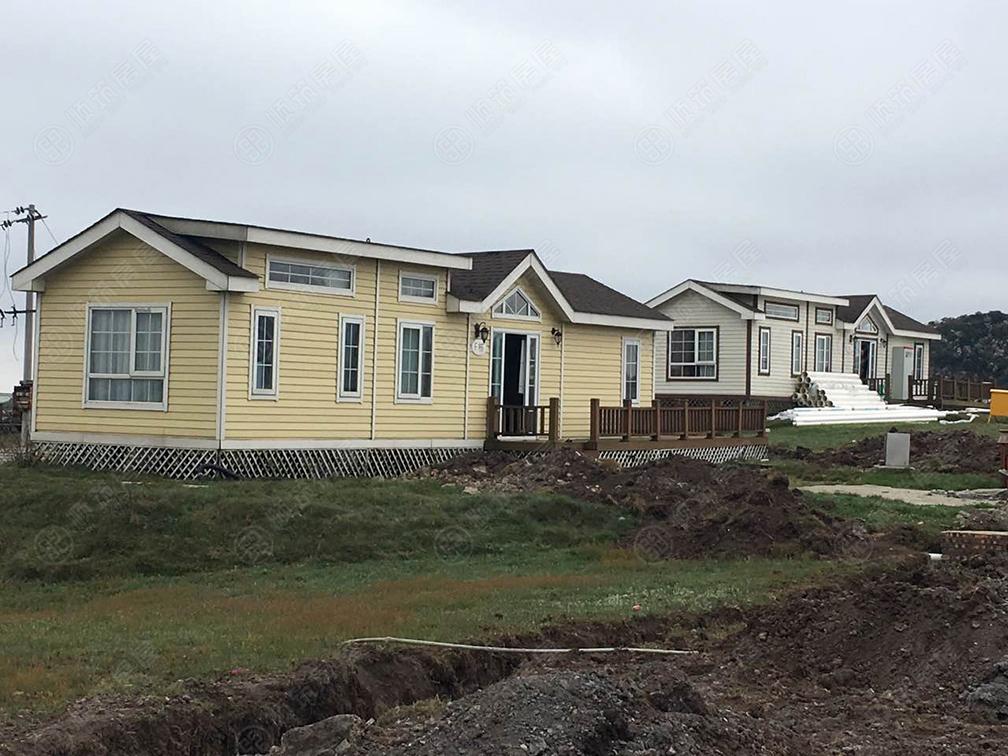 轻型钢结构单层房屋建设案例
