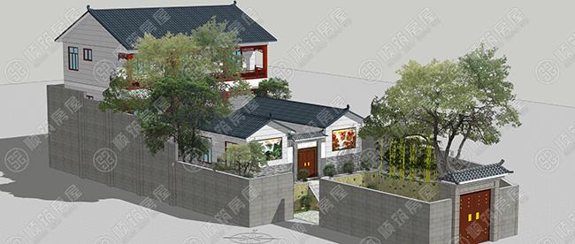 四合院,又称四合房, 是中国的一种传统合院式建筑,其格局为一个院子四面建有房屋,从四面将庭院合围在中间,故名四合院。 四合院的正房一般三间,大四合院的正房可以为五至七间,坐北朝南,是一家之主的居所。正房的明间(即中间一间)称为堂屋,也称为中堂,三开间的正房堂屋两侧是卧室和书房,正房的特点是冬天太阳能够照进屋里,冬暖夏凉。通常在明间正中排放一八仙桌,桌子两旁设两把椅子,在墙上挂着一幅画和两副条幅,或挂四幅中堂画。 现在四合院越来越少,但也还是有一部分人群钟爱于四合院建筑,本期案例,顺筑房屋跟大家分享比较流行