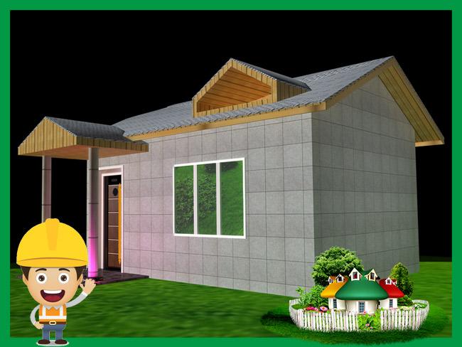 贵州毕节轻钢房屋度假山庄配套KTV建设