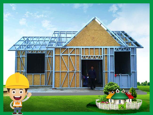 中铁上海工程局普洱轻钢房屋建设案例展示