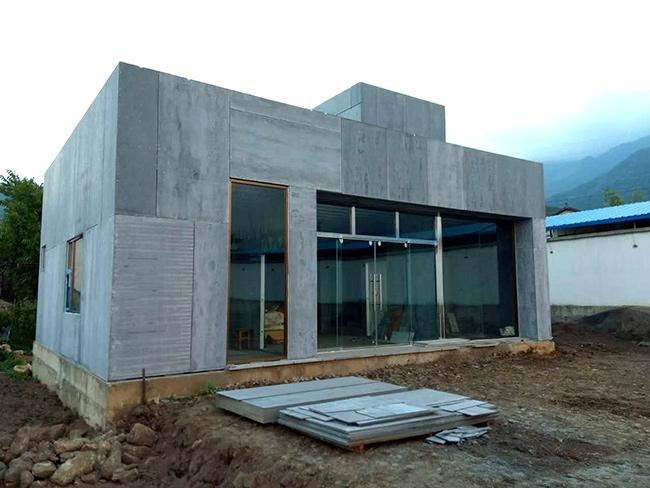 大理洱源张总私人自建轻钢结构别墅案例展示