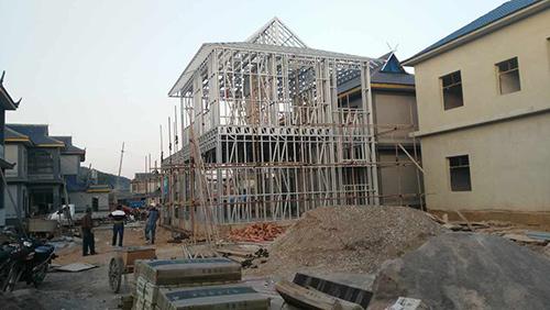 方姐普洱孟连农村自建房农产品展示厅案例