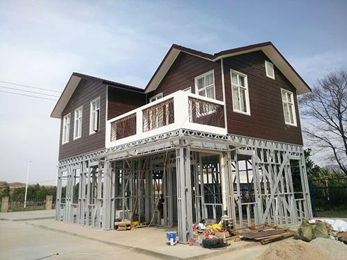 水电十四局昆明长水机场轻钢结构别墅样板房案例展示