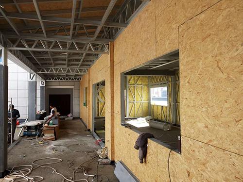 临沧轻钢结构房屋办公楼加层案例展示