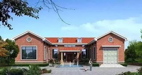 云南会泽农村三合院,轻钢结构单层自建房屋案例