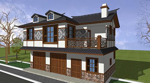 贵州兴义市农村两层149㎡私人轻钢别墅建房案例