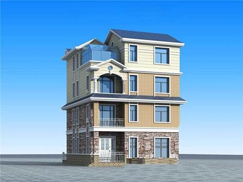 玉溪新平新型轻钢结构自建房别墅建设案例