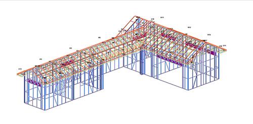 昆明滇池印象花园轻钢结构附属配套房建设案例