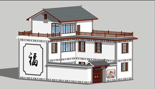 楚雄王总创业投资轻钢别墅自建三层别墅样板房推广案例