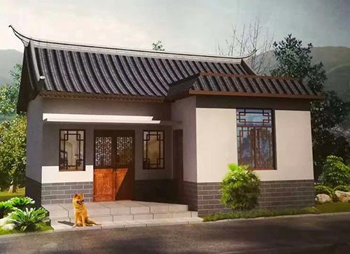 楚雄州东华镇单层轻钢住宅案例
