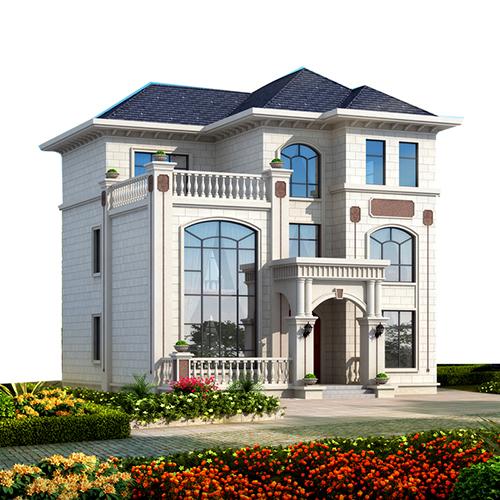395平米,普洱景东农村轻钢别墅施工案例
