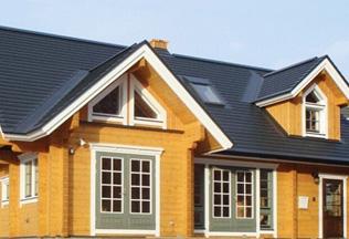 轻钢木塑别墅