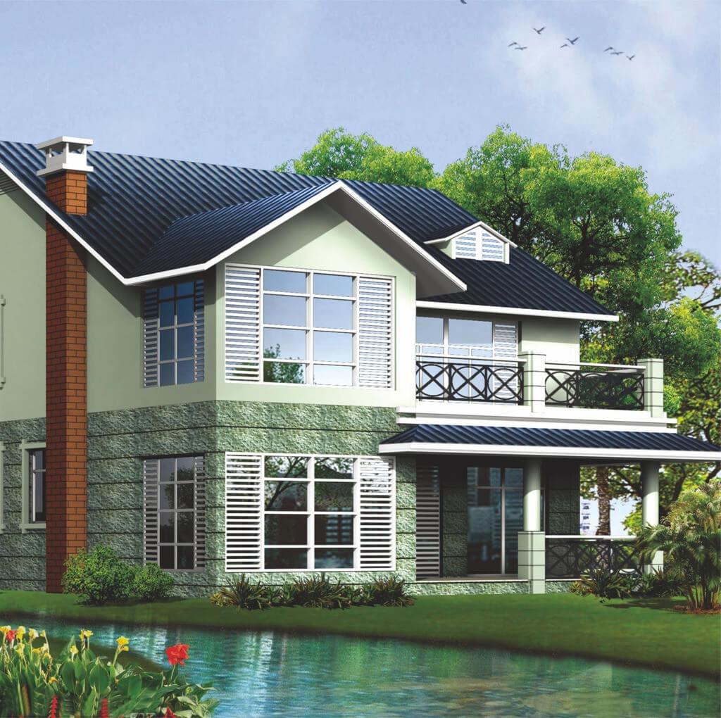 轻钢集成房屋-A户型图