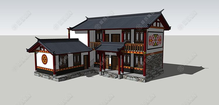 彝族房屋设计-5