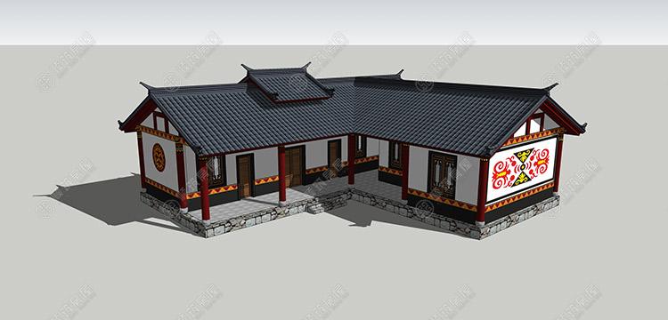 彝族民居设计-6