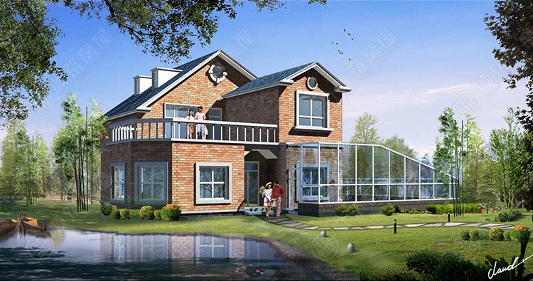 农村钢结构房屋-43