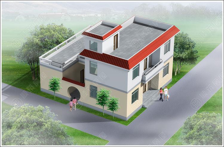 农村钢结构房屋-44