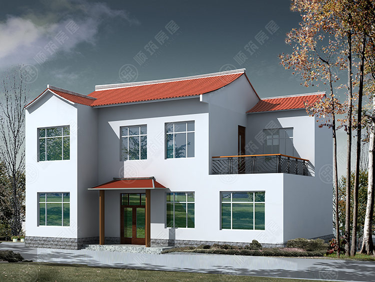 农村钢结构房屋-47