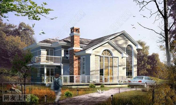 轻型钢结构别墅-1