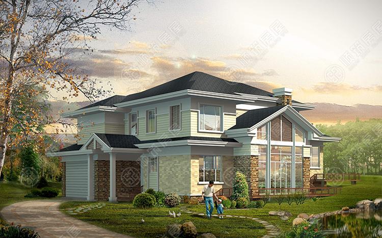 轻型钢结构别墅-2