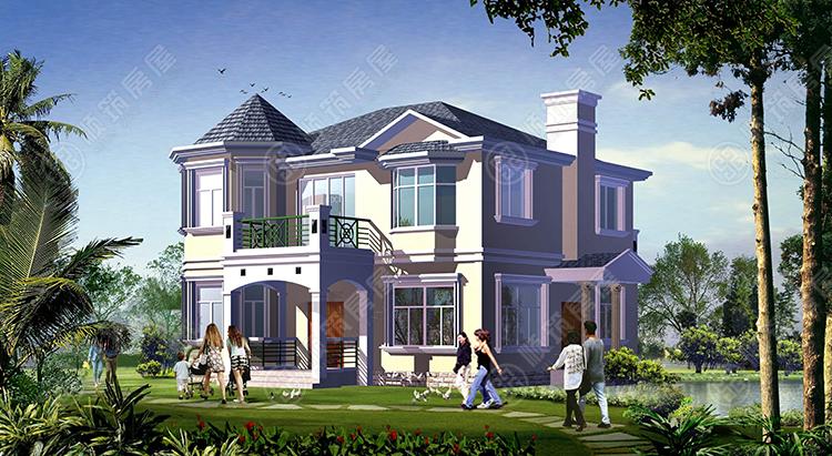 轻型钢结构别墅-3