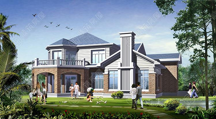 轻型钢结构别墅-5